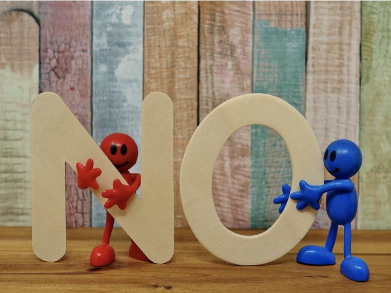 Consentement: le droit de dire non !